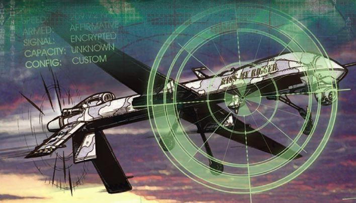 Rezension: Vertraute Drohnen – Shadowrun