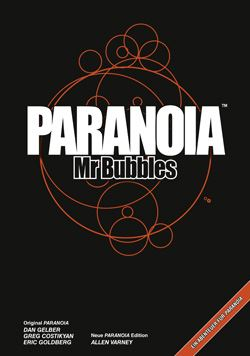 Paranoia Mr Bubbles cover
