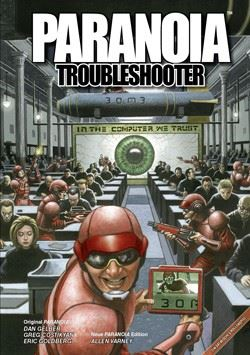 Paranoia Troubleshooters Cover