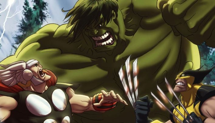 Angeschaut: Hulk vs Thor & Wolverine