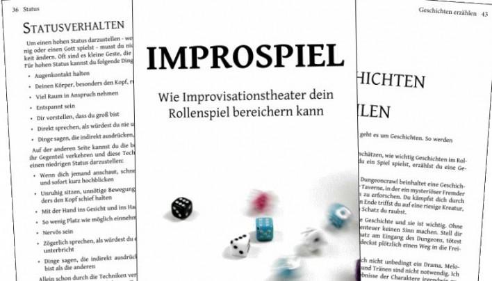 Rezension: Improspiel – Wie Improvisationstheater dein Rollenspiel bereichern kann