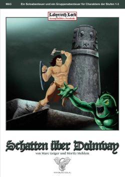 Schatten ueber Dolmay Cover