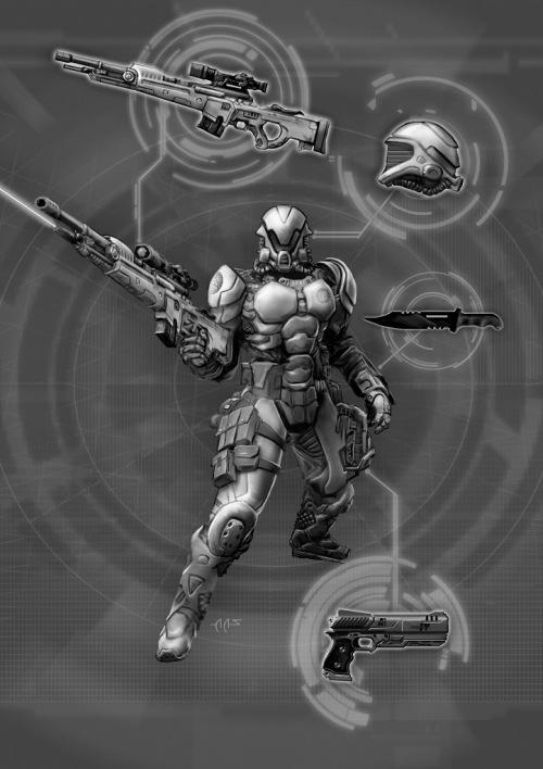 Shadowrun MET 2000 Soldat