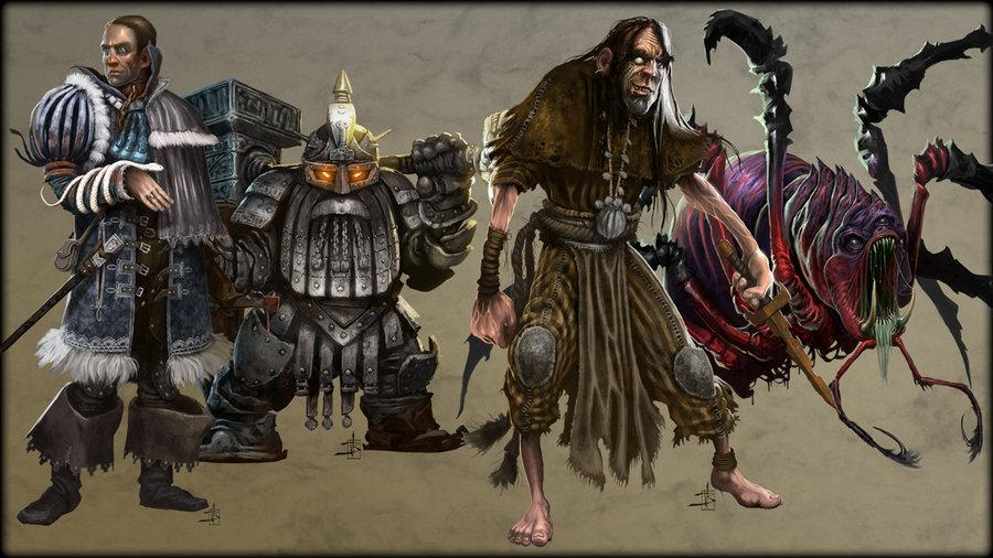 Character Design für Paizo Publishing