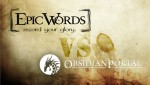 Kampagnenmanagement: Der Showdown  - Epic Words vs Obsidian Portal