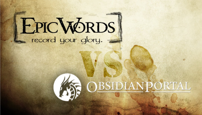 Kampagnenmanagement: Der Showdown  — Epic Words vs Obsidian Portal