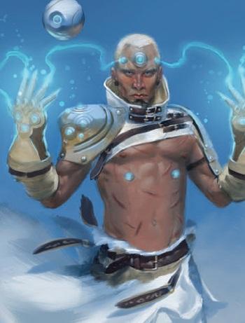 Fähigkeiten und Charaktertypen erinnern stark an Dungeons & Dragons.