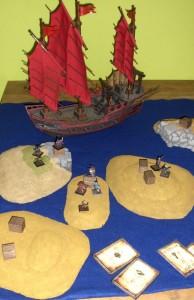 Die Schlacht tobt auf Sandbänken