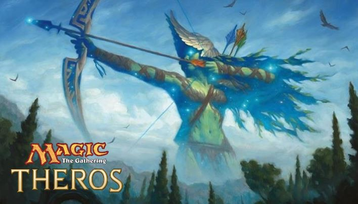 Magic: The Gathering – Theros. Gewinne ein signiertes Heldenkarten-Set!