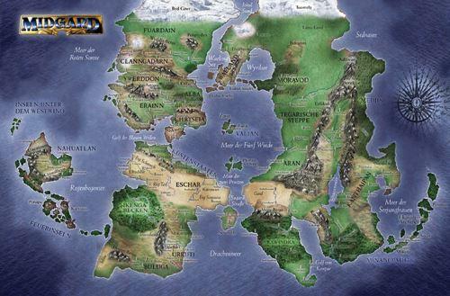 Die Karte von Midgard