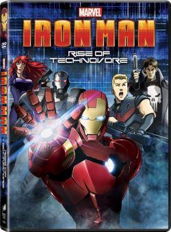 Rise of the Technovore  Cover