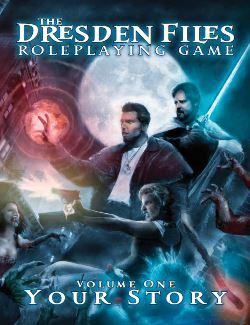 Dresden Files RPG Cover