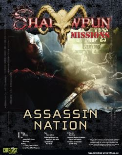 Shadowrun Assassin Nation Cover
