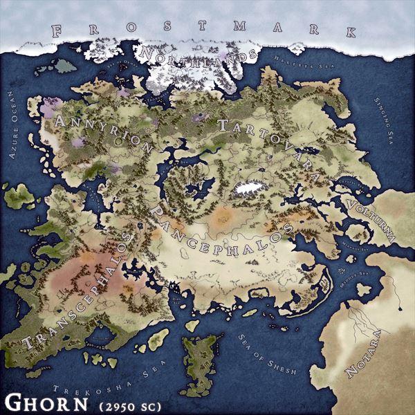 Ghorn – Calydorns Zentralkontinent