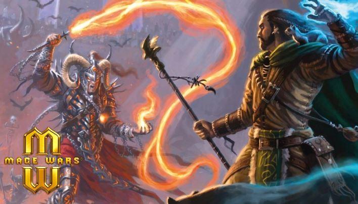 Angespielt: Mage Wars – Das Duell der Magier