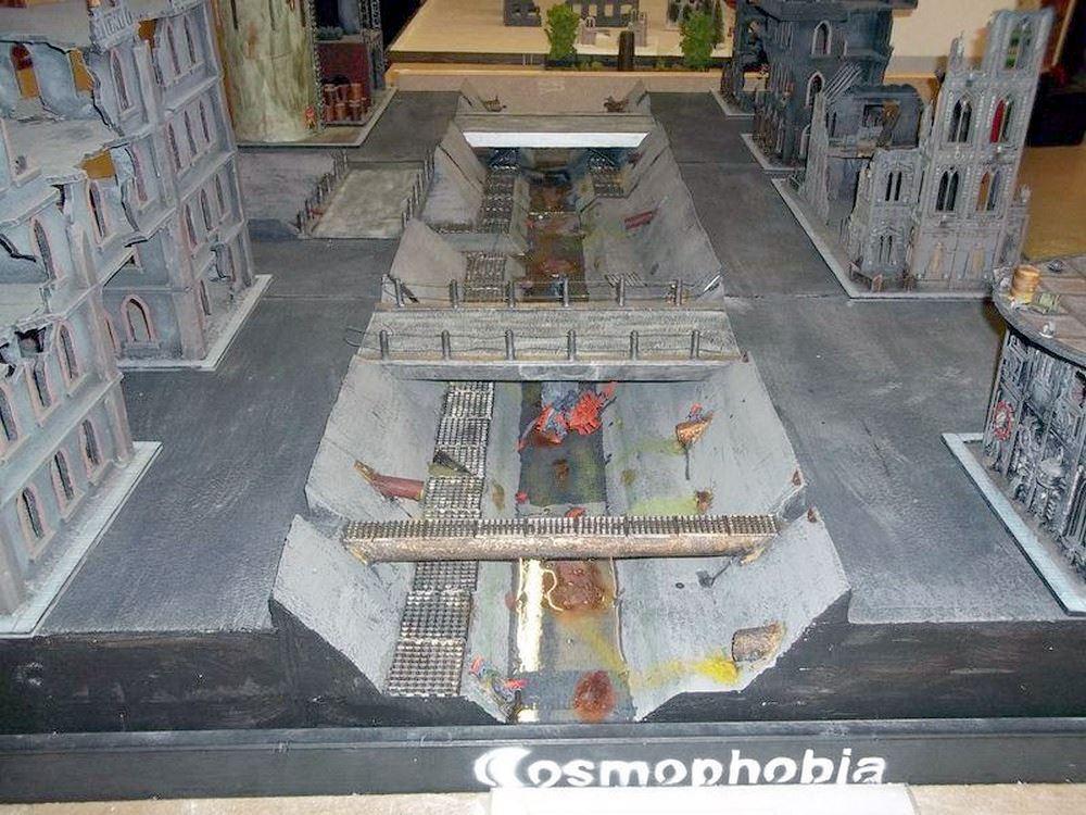 Kanalplatte für den GamesDay 2010.