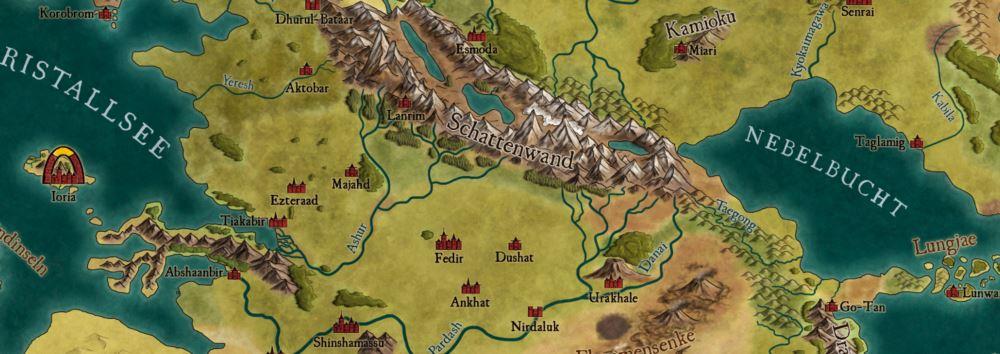 Arabisch bis asiatisch wird es im Osten von Lorakis.