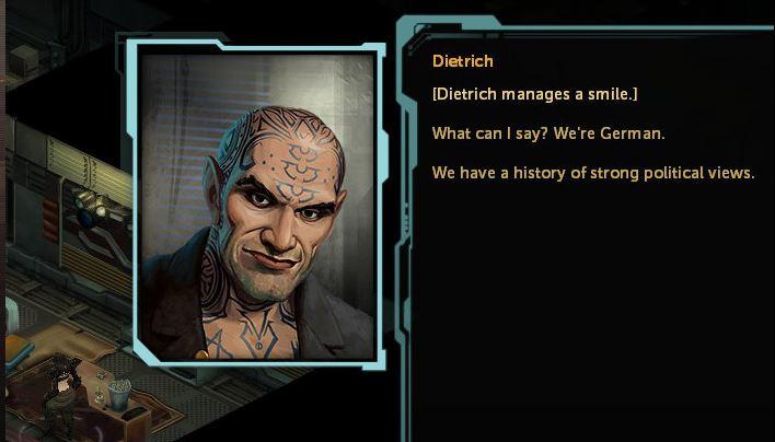 Starke Nebendarsteller: Dragonfall glänzt mit interessanten Charaktergeschichten und knackigen Dialogen.