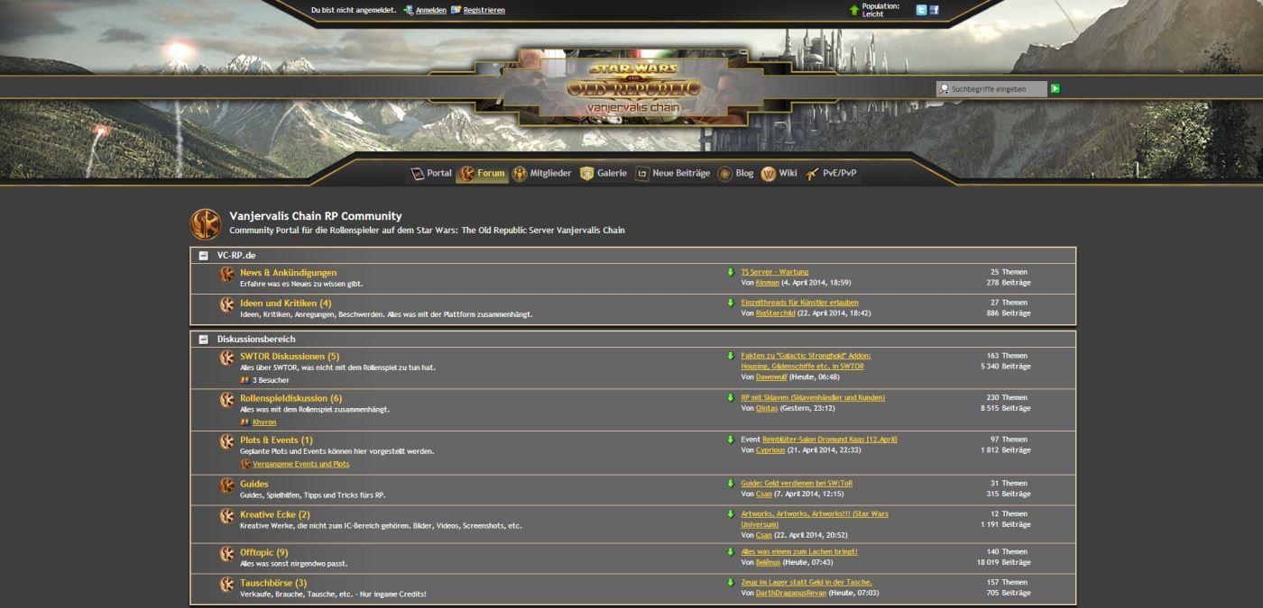 Das VC-RP Forum.
