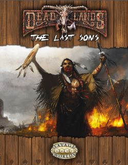 Deadlands Last Sons Cover