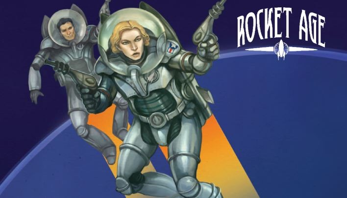 Rezension: Rocket Age Grundregelwerk