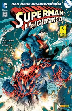 Superman_Unchained_2 Cover