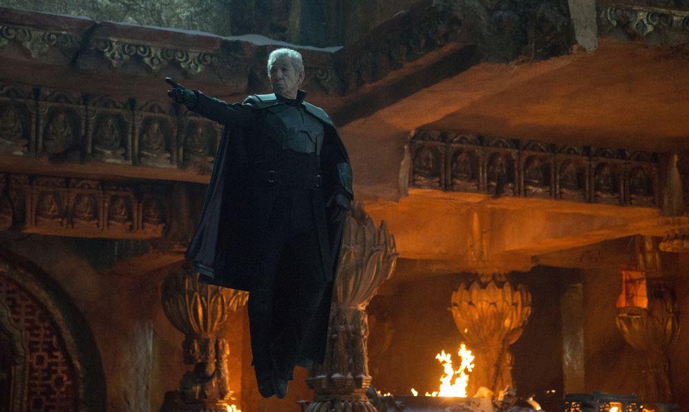 Der gealterte Magneto - wie er leibt und lebt.