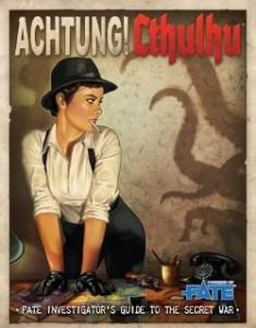 Achtung Cthulhu Investigators Guide FATE Cover