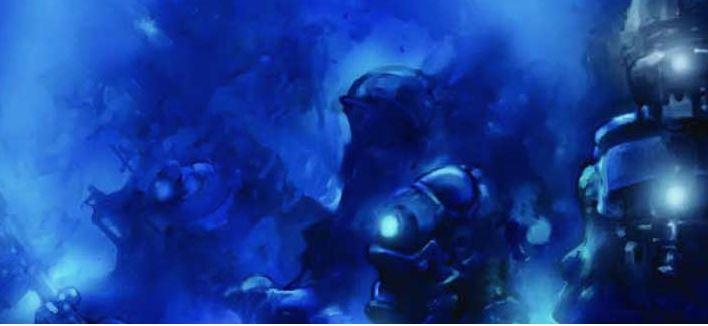 Die Unterwasserwelt der Tiefsee ist zum Teil ganz schön düster.