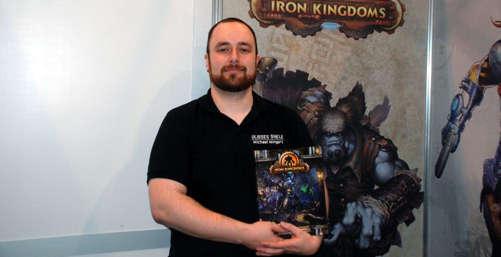 Michael und Iron Kingdoms - eine enge Freundschaft.