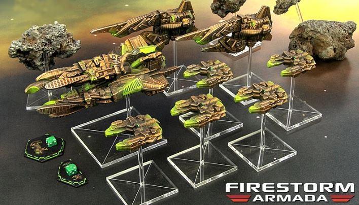 Firestorm Armada: Patrol Fleet Ba'Kash