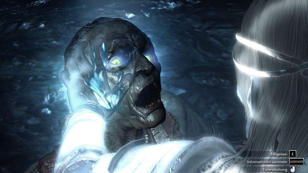Mit der Magie des Elben ist es Talion auch möglich, in den Geist der Orks einzudringen und so Informationen zu erhalten.