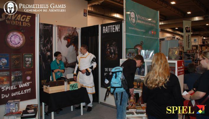 Prometheus Games auf der SPIEL 2014