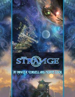 The Strange Monte Cook cover