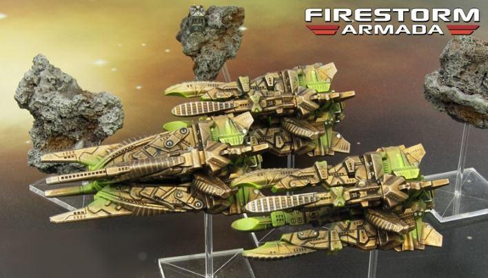 Firestorm Armada: Ba'Kash Cruiser Squadron