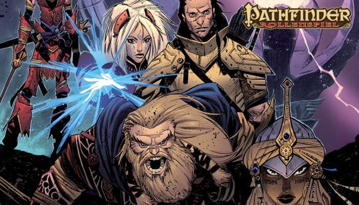 Rezension: Pathfinder-Comic – Die finstere Flut (Sammelband; Dynamite Comics)