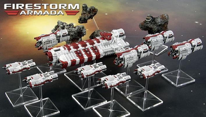 Firestorm Armada: Patrol Fleet Tarakians