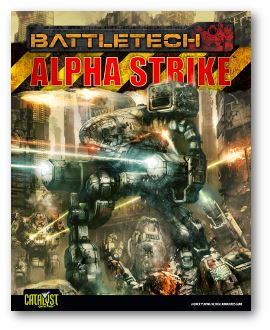 Alphastruke Battletech Cover