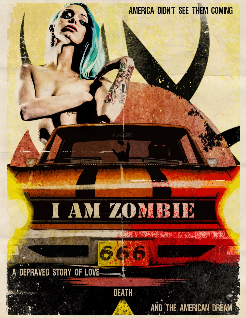 Poster B -IAmZombie - Mark Kelly Interview