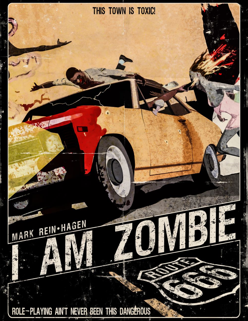 Poster IAmZombie - Mark Kelly Interview