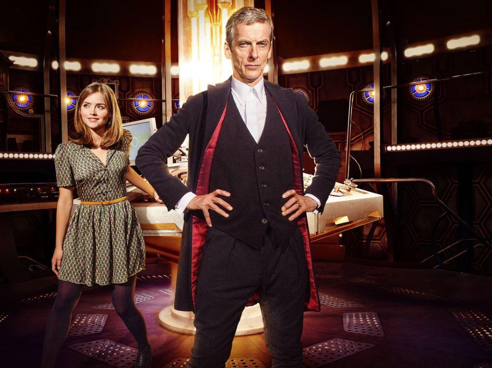 Clara (JENNA COLEMAN) und The Doctor (PETER CAPALDI)