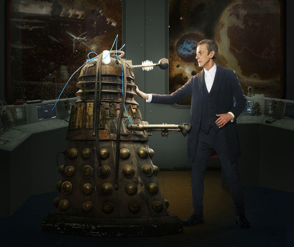 PETER CAPALDI alsThe Doctor und der Erzfeind, einer der Dalek