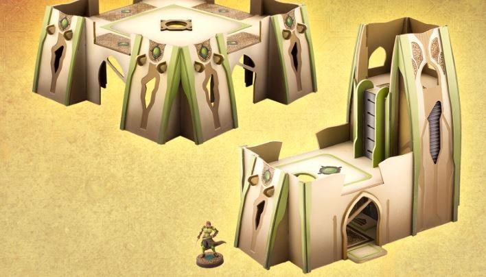Rezension: Bourak Gebäude-Set von Plast Craft Games