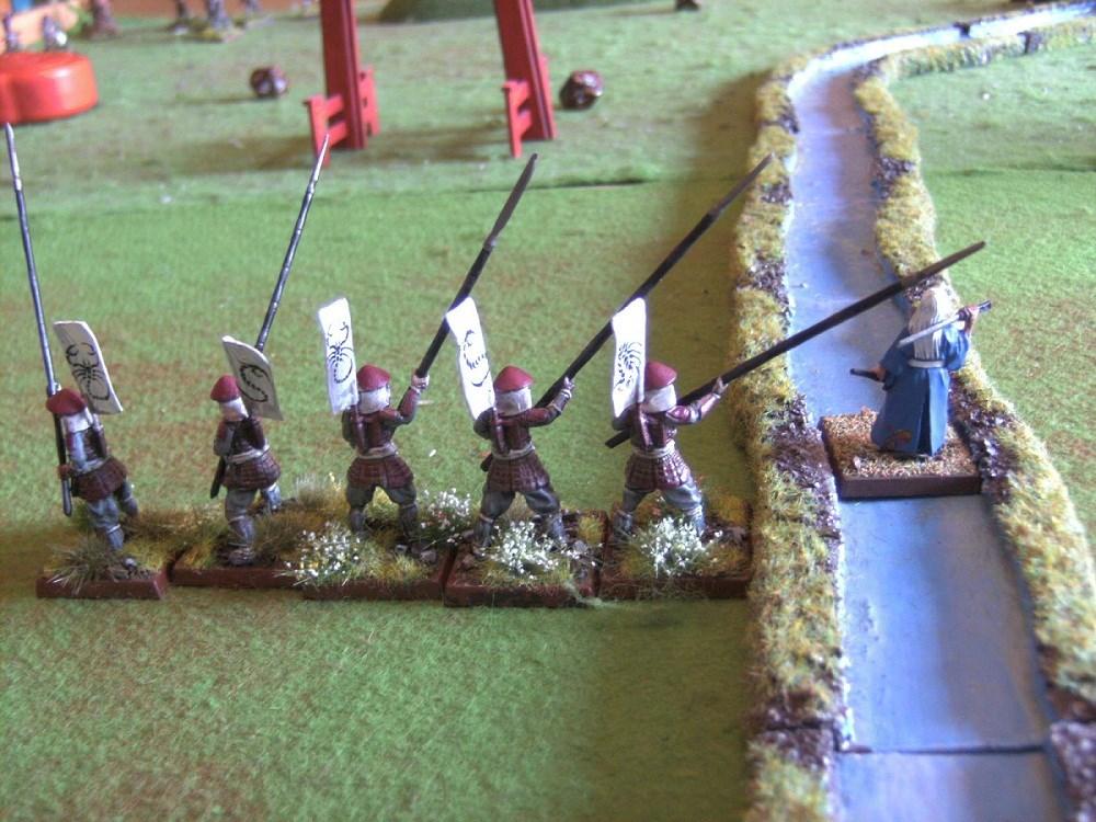 Auch die letzten Samurai fallen Houjis Klingen zum Opfer