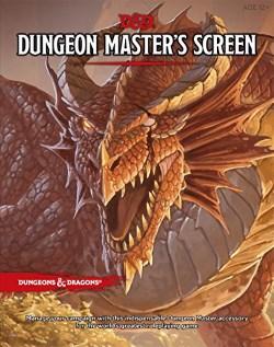 D&D5 Screen Cover