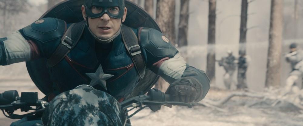 Marvel's Avengers: Age Of Ultron  Steve Rogers/Captain America (Chris Evans)  Ph: Film Frame  ©Marvel 2015