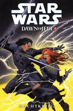 Star Wars Dawn of the Jedi Machtkrieg III Cover