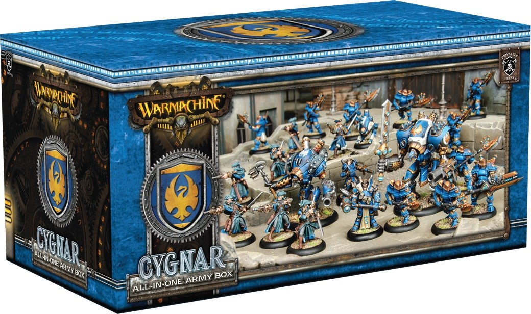 Cygnar-all-in-One - (c) Privateer Press