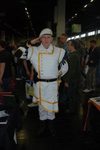 Ein schneidiger Offizier aus dem Imperium vom Nova RPG