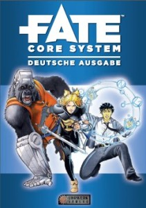 Fate core Deutsch Uhrwerk Cover